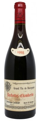 RUCHOTTES CHAMBERTIN Dominique LAURENT 1998