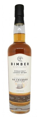 BIMBER- Small Batch - Recharred Oak Cask - 51,90%