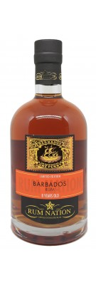 RUM NATION - Barbados 8 ans - 40%