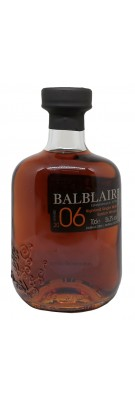 BALBLAIR - 14 ans - Millésime 2006 - Single Cask Sherry - 56,3%