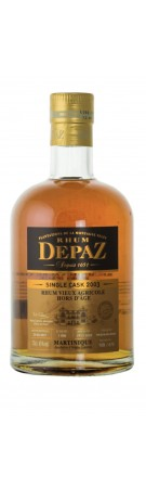 RHUM DEPAZ - Single Cask 2003 - 45%