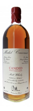 Whisky MICHEL COUVREUR - Candid Malt Whisky - 49%