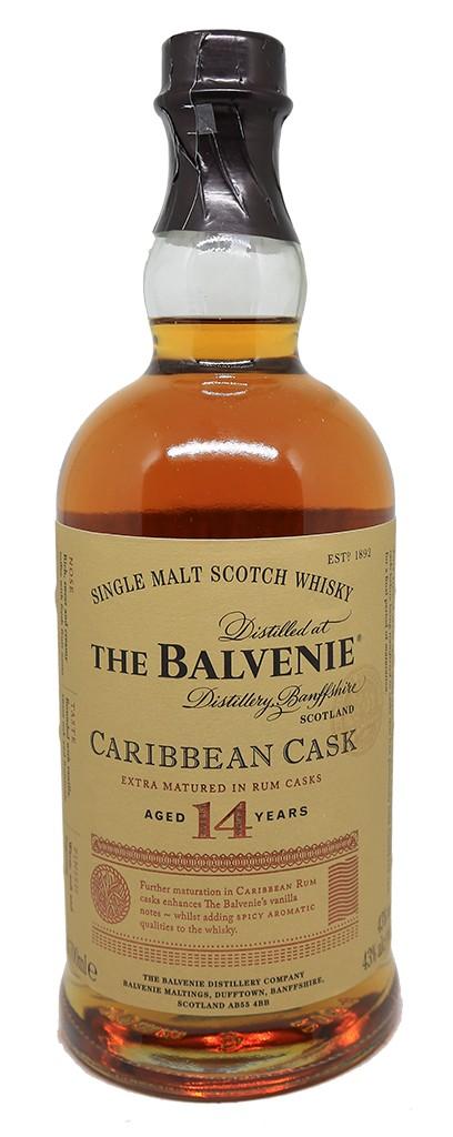 balvenie caribbean cask single malt scotch
